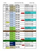 Secondary Entire Year Unit Plan Planning Template