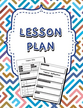 Secondary General Lesson Plan Template