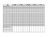 Secondary Grade Sheet