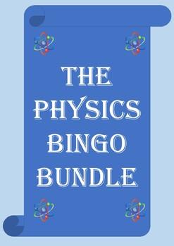 GCSE/High School Physics Bingo Bundle. 7 sets and growing!