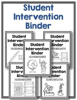 Intervention Binder ~ Secondary