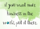 Secondary Kindness Posters (10)