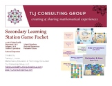 Secondary Learning Station Games