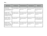 Secondary Lesson Plan Format