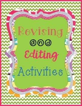Secondary Literacy Center: Multiple Revising Stations