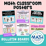 Secondary Math Classroom Posters Bundle