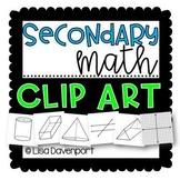 Secondary Math Clip Art