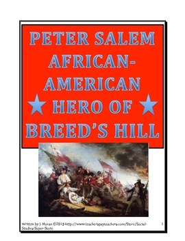 Secondary-Peter Salem: African-American Hero at Breed's Hill