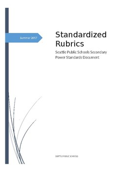 Secondary Physical Education Standards-Based Grading. Complete Rubrics!!!