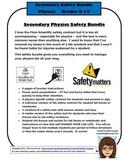 Secondary Physics Safety Bundle