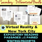 Secondary Reading Passage & Writing Prompt BUNDLE- STAAR -