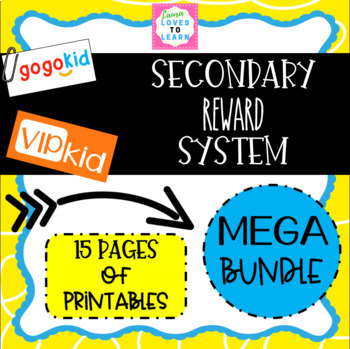 photograph regarding Vipkid Reward System Printable named Secondary Gain Course of action for GogoKid VIPKid On line ESL Instruction