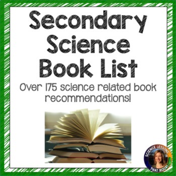 Secondary Science Book List