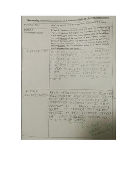 Secondary Science EDTPA Task 3- Student Work Sample 3 with Feedback
