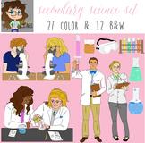 Secondary Science Illustration Set