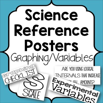Graphing and Variables Reference Posters