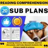 Secondary Science Sub Plan Bundle