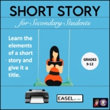 Short Story with Comprehension Questions for Secondary Students