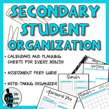 Secondary Student Organization