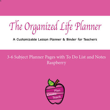 The Organized Life Planner - Customizable Planner/Binder - Planning & Notes