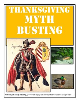 Secondary-Thanksgiving Myth Busting