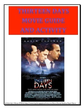 Secondary:Thirteen Days - Movie Guide and Activity