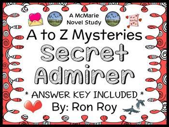 Secret Admirer : A to Z Mysteries Super Edition (Ron Roy) Novel Study