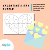 Secret Admirer Puzzle - Valentine's Day Craft