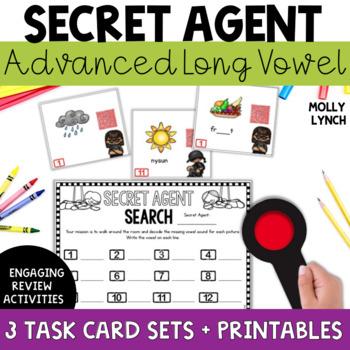 Secret Agent: Advanced Long Vowels