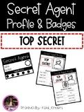 Secret Agent: Agent Profile & Badges