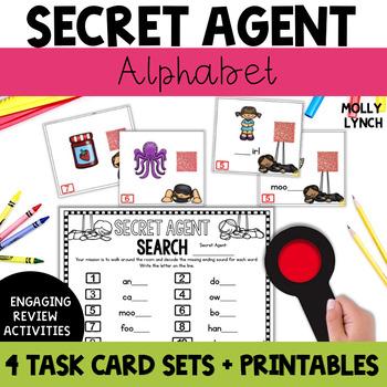 Secret Agent: Alphabet
