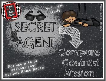 Secret Agent - COMPARE / CONTRAST  MISSION