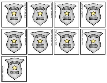 Secret Agent - Categories Mission