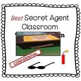 Secret Agent Classroom Transformation