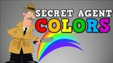 Secret Agent Colors! (video)