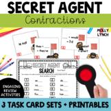 Secret Agent: Contractions