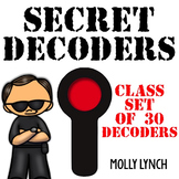 Secret Agent Decoders