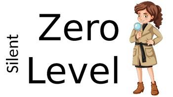 Secret Agent/ Detective Voice Level Chart