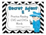 Secret Agent E Game - A Short Vowel and CVCe Game