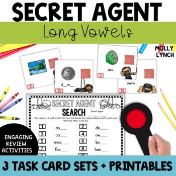 Secret Agent: Long Vowels