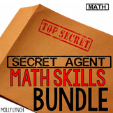 Secret Agent Math Bundle
