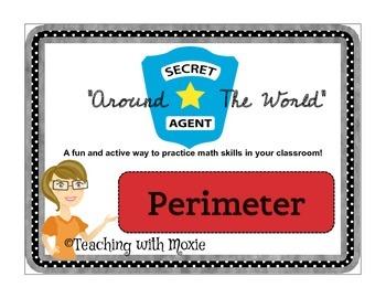Scavenger Hunt Math - Perimeter