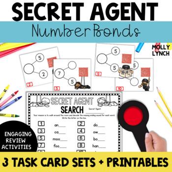 Secret Agent: Number Bonds