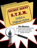 Secret Agent STEM STEAM Mission: Build a Higher Spire