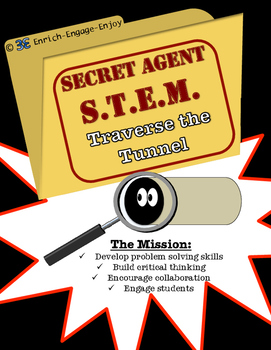 Secret Agent STEM STEAM Mission: Traverse the Tunnel