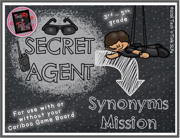 Secret Agent - SYNONYMS Mission