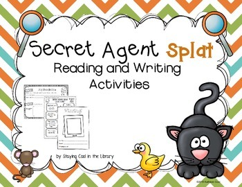 Secret Agent Splat Reading and Writing Activities