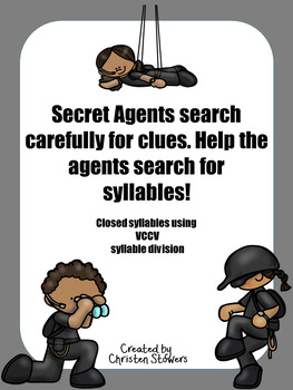 Secret Agent Syllable Work
