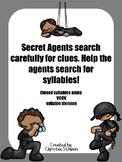Secret Agent Syllable Work
