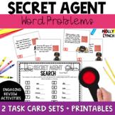 Secret Agent: Word Problems